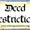 Caveat – Deed of Restrictions of Condominium Ownership