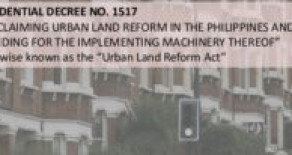 What is Urban Land Reform Code ?