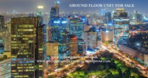 Ground Floor Unit for Sale – Makati Central Business District
