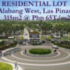 Alabang West, Las Pinas – Prime Lot for Sale