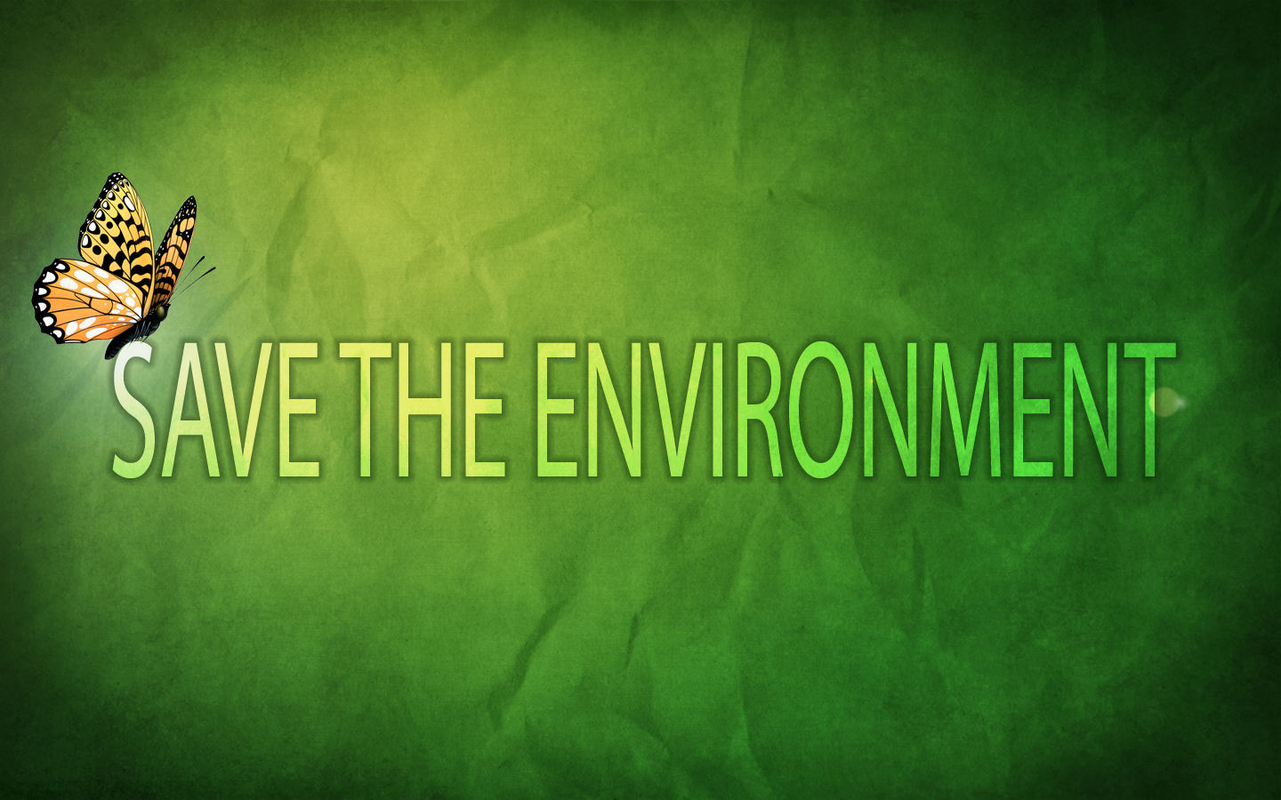 save envirnment
